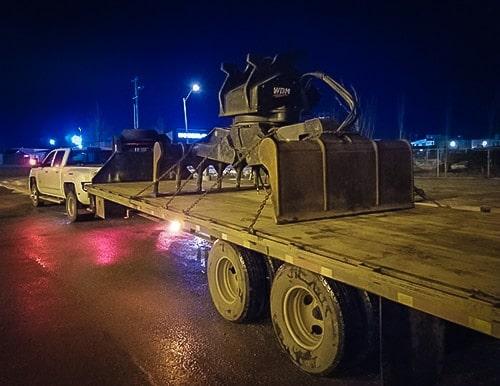 Hotshot truck Grande Prairie Alberta