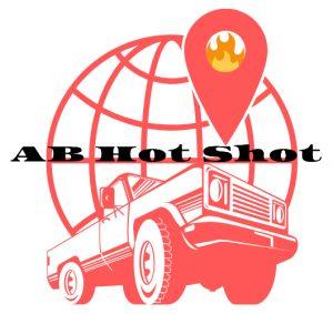 Hot shot company Alberta logo