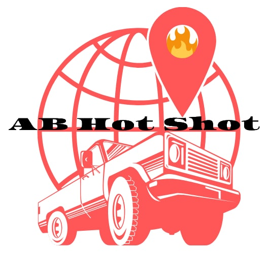 Hot shot company Alberta logo