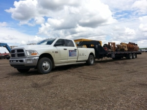 light oilfield transport service
