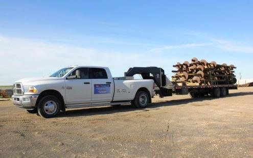 Oilfield hauling Red Deer